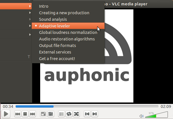 Chapter marks in VLC