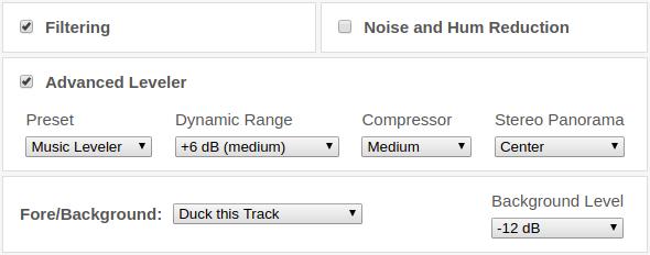 Auphonic Blog: Advanced Multitrack Audio Algorithms Release